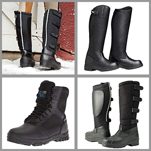 Best winter riding boots